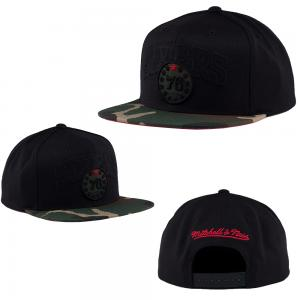 Mitchell & Ness NBA Philadelphia 76ers Woodland Blind Snapback