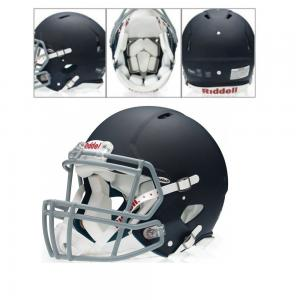 Riddell Casque de Football Américain Foundation Méttalique brillant ou Mat M/L