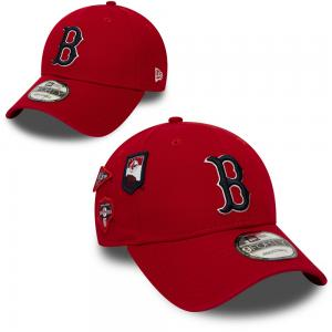 New Era MLB Boston Red Sox Cooperstown Patched 9Forty Cap