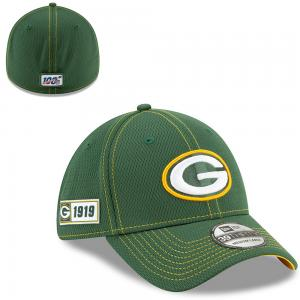 New Era NFL Green Bay Packers Onfield Sideline Road 2019 39Thirty