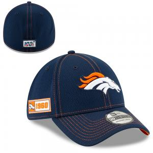 New Era NFL Denver Broncos Onfield Sideline Road 2019 39Thirty Cap