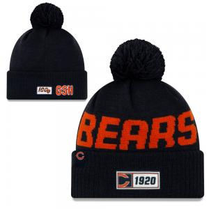 New Era NFL Chicago Bears Onfield 2019 Sport Knit Road