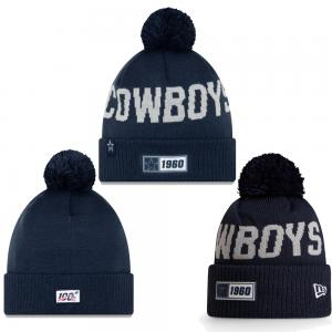 New Era NFL Dallas Cowboys Onfield 2019 Sport Knit Road