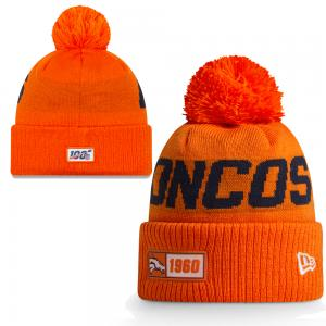 New Era NFL Denver Broncos Onfield Sport Knit Road