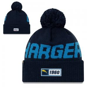 New Era NFL Los Angeles Chargers Onfield Sport Knit Road