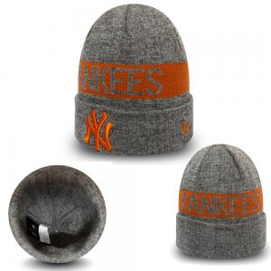 New Era MLB New York Yankees Marl Cuff Knit