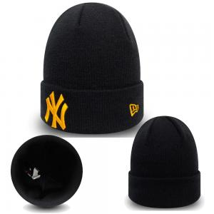 New Era MLB New York Yankees League Essential Cuf Black