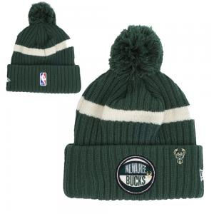 New Era NBA Milwaukee Bucks 2019 Draft Knit