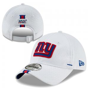 New Era NFL New York Giants White Onfield19 Training Camp Official 9TWENTY