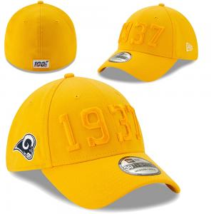 New Era NFL Los Angeles Rams Onfield 2019 Sideline Alternate 39Thirty cap