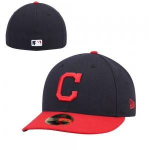 New Era MLB Cleveland Indians  Authentic Collection  Low Profile Home 59FIFTY Cap