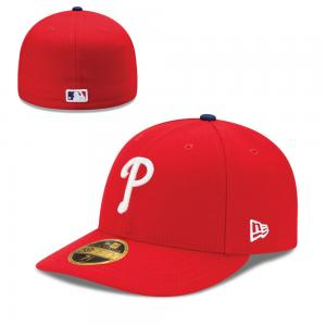 New Era MLB Philadelphia Phillies Game Authentic Collection Low Profile 59Fifty Cap