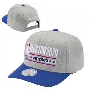 Mitchell & Ness Heather Stars 110 Flex Snapback All-Star