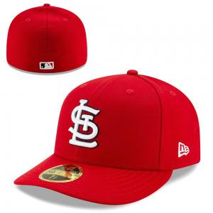 New Era MLB St Louis Cardinals Alternate Scarlet Authentic Low Profile 59FIFTY cap