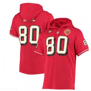 Mitchell & Ness NFL San Francisco 49ers Jerry Rice Name & Number S/S Hoody