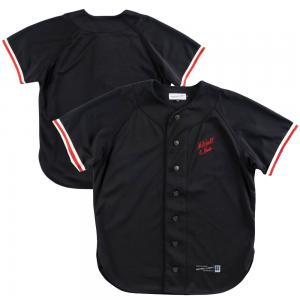 Mitchell & Ness Branded Vintage Baseball Jersey Black
