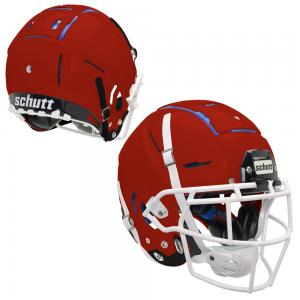 Schutt F7 Collegiate US Football Helmet incl. F5 Carbon Steel Guard.