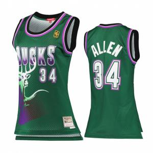 Mitchell & Ness NBA Milwaukee Bucks Womens Swingman Bucks 1996-97 Ray Allen Jersey