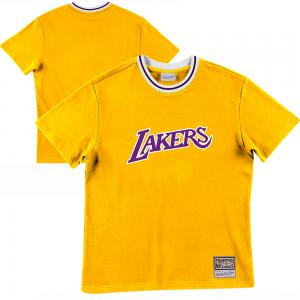 Mitchell & Ness NBA Los Angeles Lakers Lightweight French Terry Tee