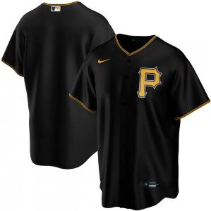 Nike MLB Pittsburgh Pirates Black Alternate 2020 Replica Baseball Jersey