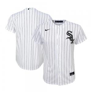 Nike MLB Chicago White Sox White Home 2020 Replica Baseball Jersey