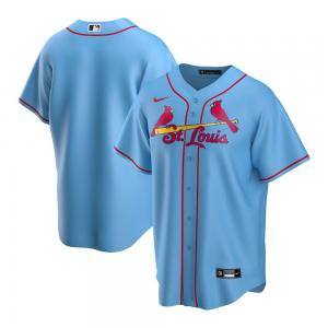 Nike MLB St.Louis Cardinals Light Blue Alternate 2020 Replica Team Jersey