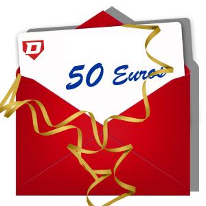 Diamond Gift Card of 50 Euros