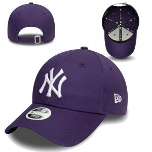 New Era MLB New York Yankees Womens Colour Essential 9Forty Cap Purple