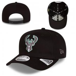 New Era NBA Milwaukee Bucks  Neon Pop Outline Stretch Snap 9fifty Cap