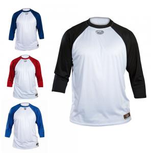 Louisville Slugger LS1526 Loose Fit 3/4 Sleeve Undershirt Youth