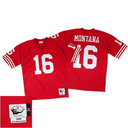 Mitchell & Ness/NFL San Francisco 49ers Joe Montana 1989 Replica Jersey