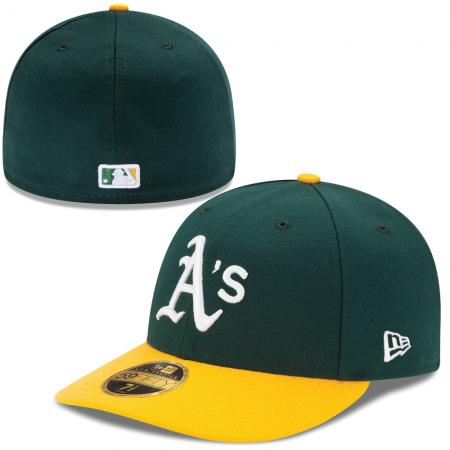 New Era/MLB Oakland Athletics Home Authentic Low Profile 59FIFTY