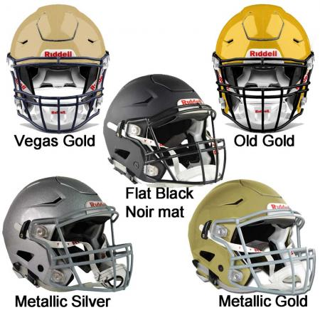 Riddell/SpeedFlex XL American Football helmet High Gloss or Flat