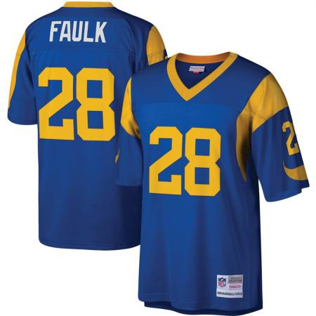 Mitchell & Ness/NFL St Louis Rams Marshal Faulk Legacy Jersey