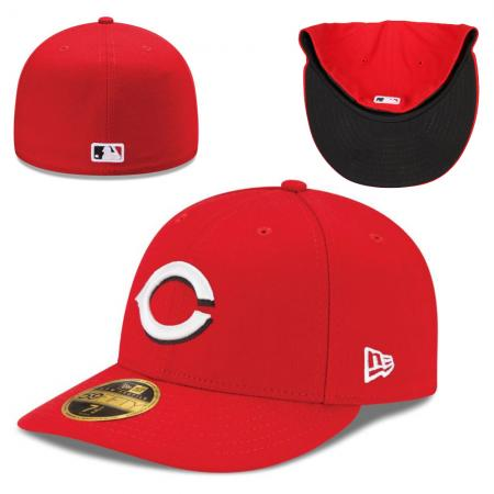 New Era/MLB Cincinnati Reds  Authentic Collection  Low Profile Home 59FIFTY Cap