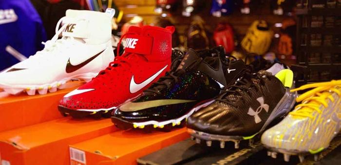 Pro Football or Baseball Shoes